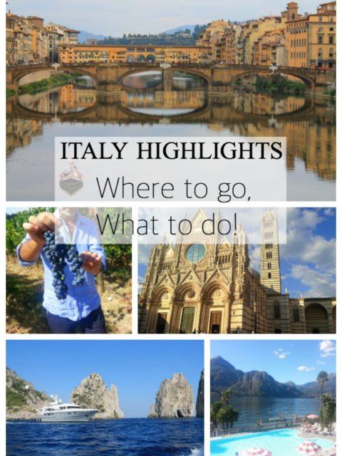Italy Itinerary, Where to travel in Italy, Italy travel tips, Italy honeymoon