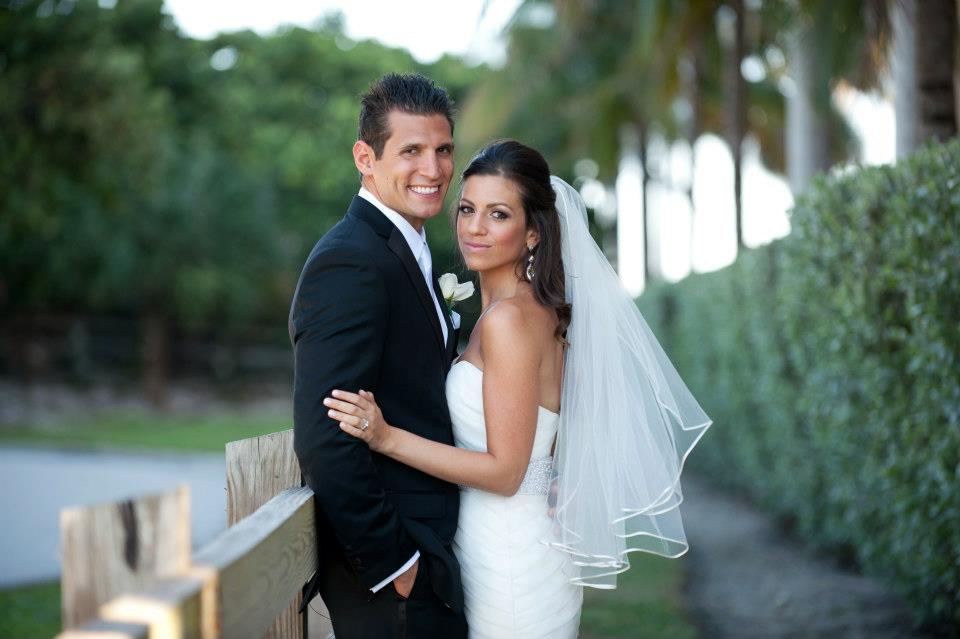 Bride and Groom in Hollywood Florida