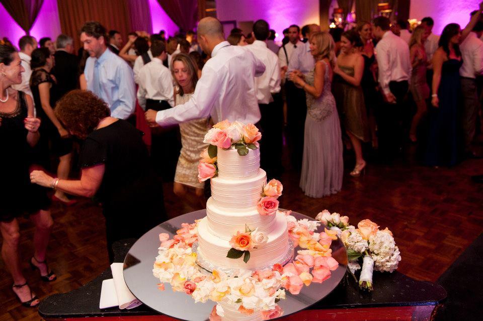 Rustic and Whimsical Wedding Cake