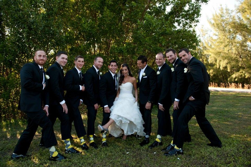 matching socks for Groomsmen