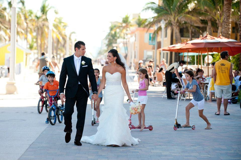 Hollywood Beach Florida Wedding
