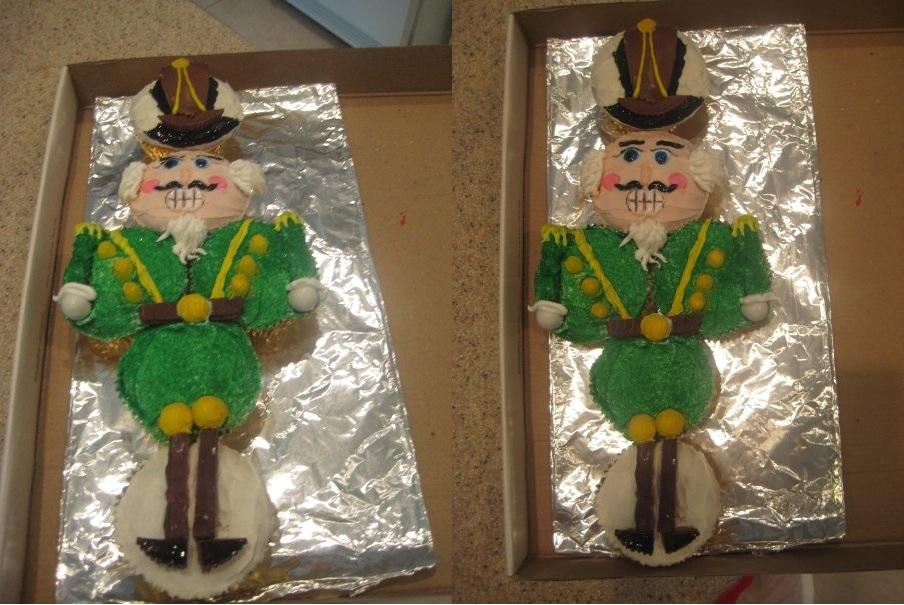 The Nutcracker Cupcakes