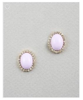 Elle B Egg Drop Earrings