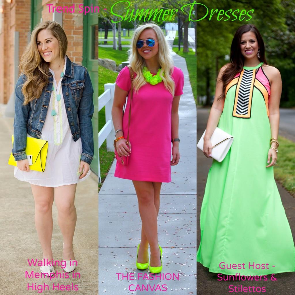 summer dresses linkup
