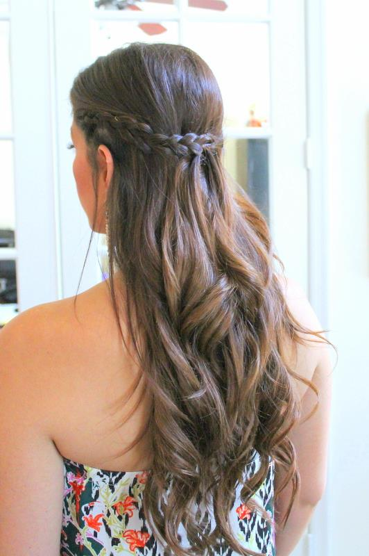 Baby Shower Hairstyles ~ Easy hairstyles for baby shower