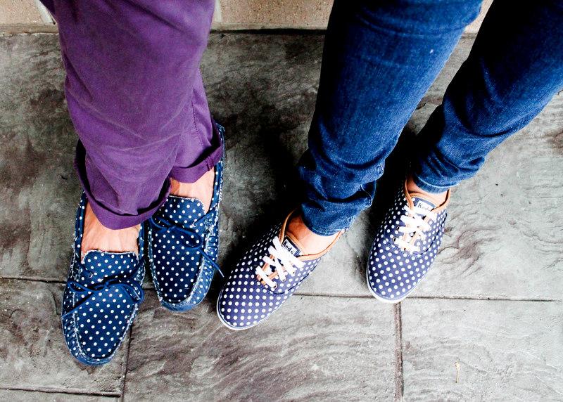 Polka Dot Keds Shoes