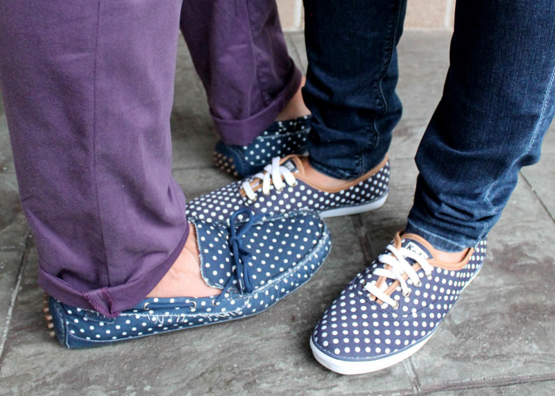 Cole Haan Polka Dot Shoes