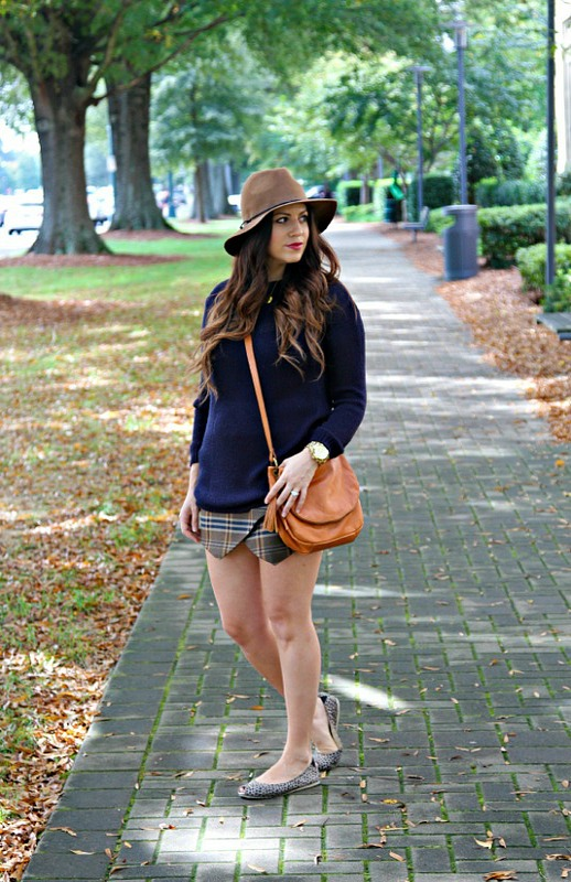 What to Wear with a Plaid Skirt