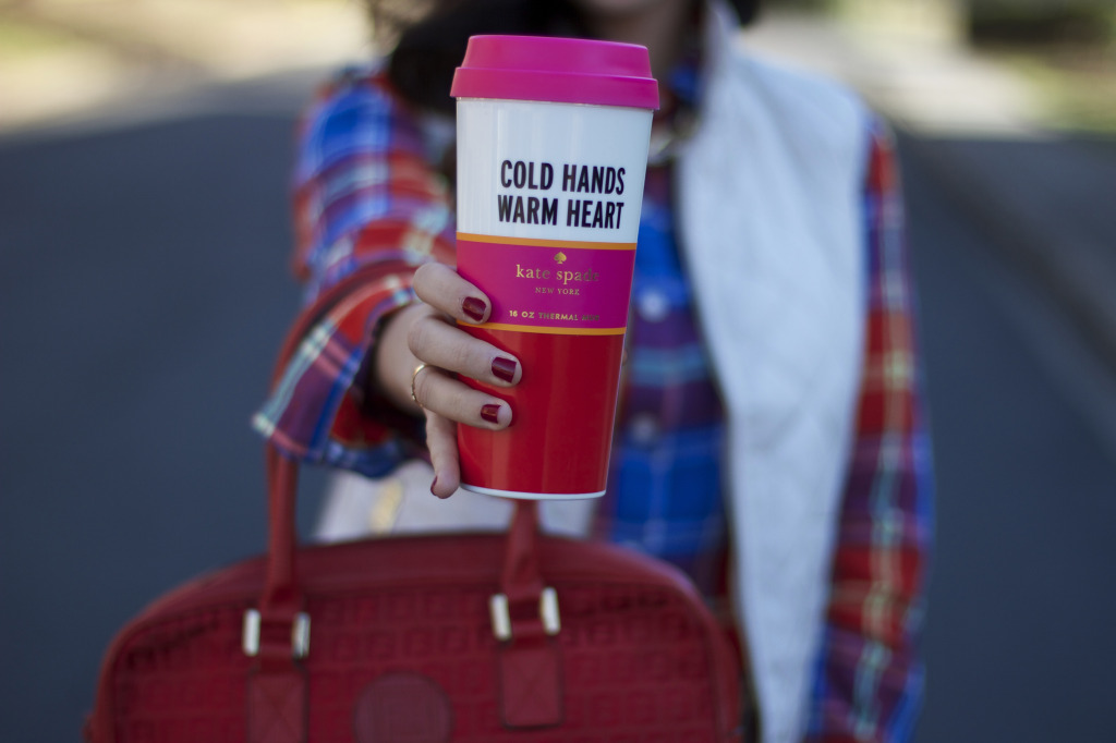 Kate Spade Cold Hands Warm Heart Thermis