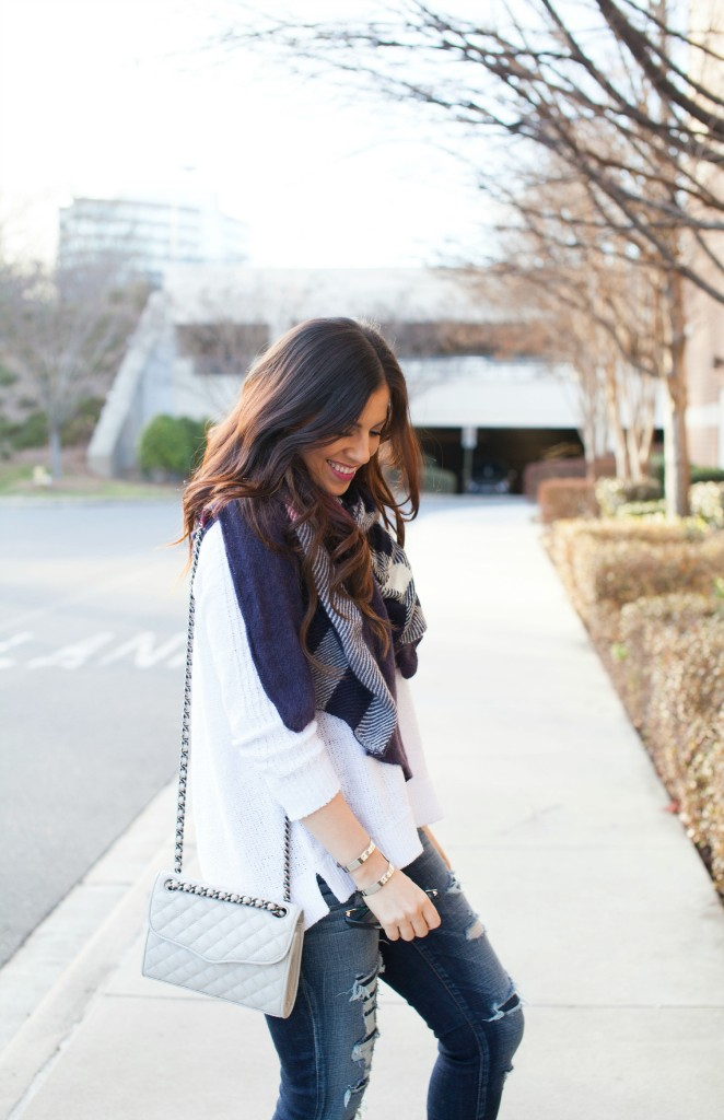 An Easy Stylish Winter Outfit on Sunflowers and Stilettos fashion blog