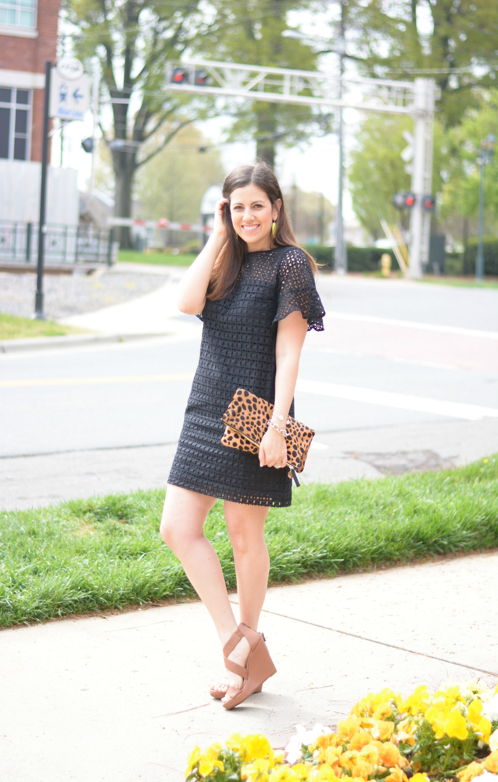 Black Wedges Dresses