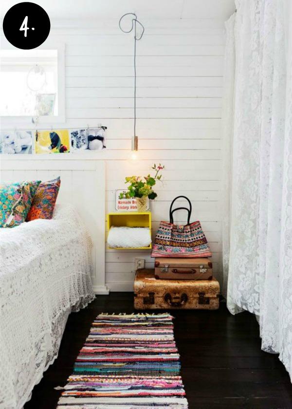 Boho inspired bedroom 1