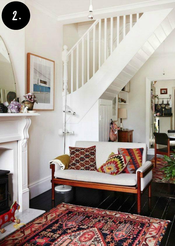 Boho inspired family room