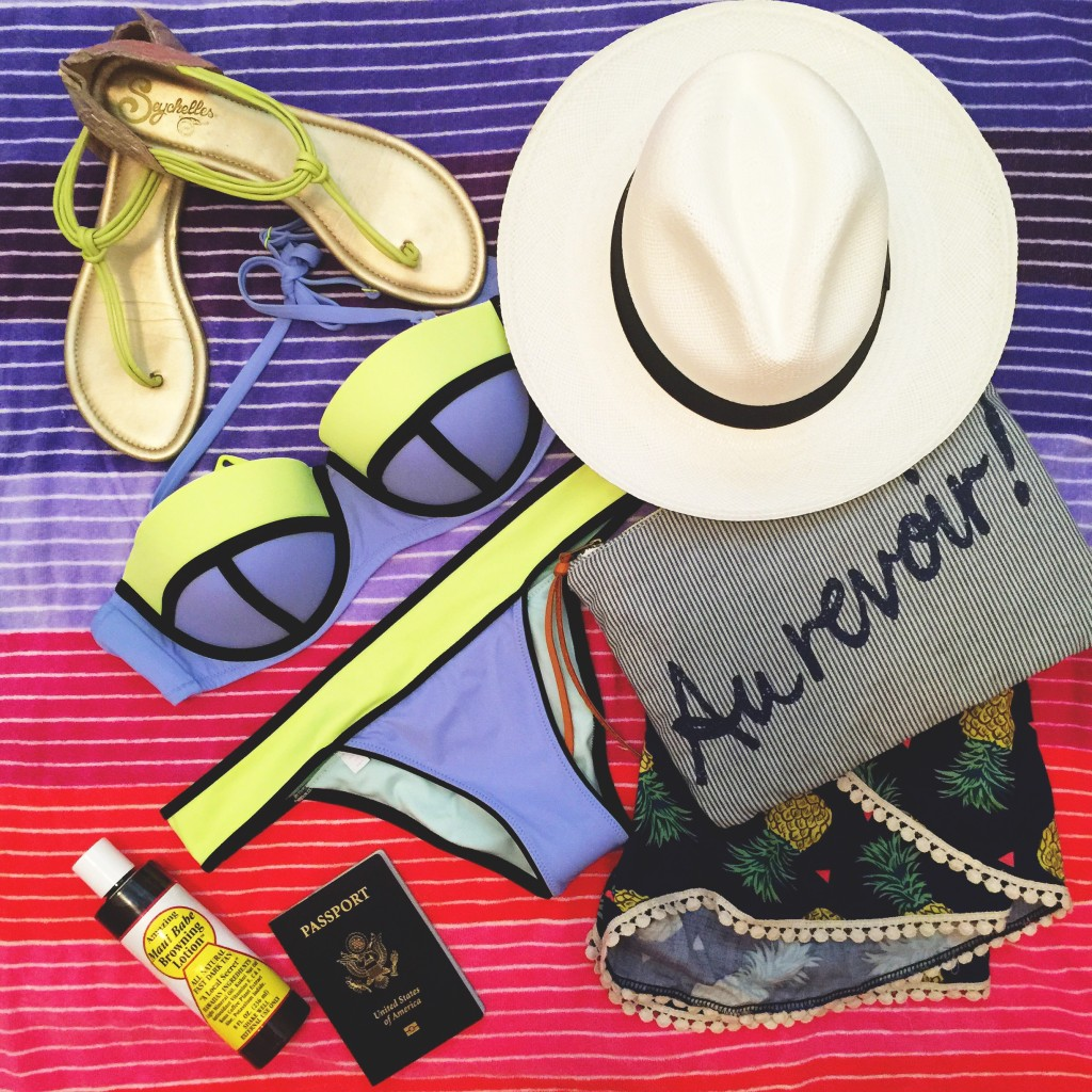 What to bring to a tropical vacation