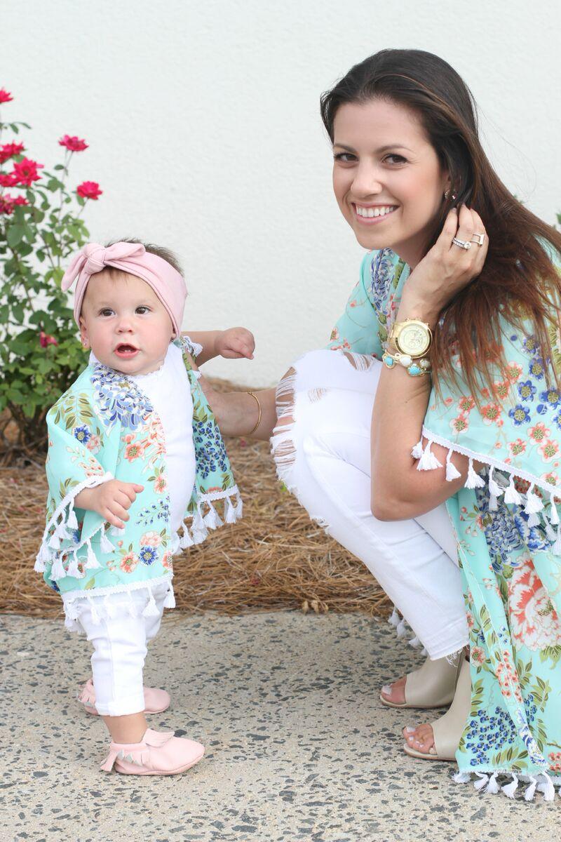 Mommy And Me Kimonos