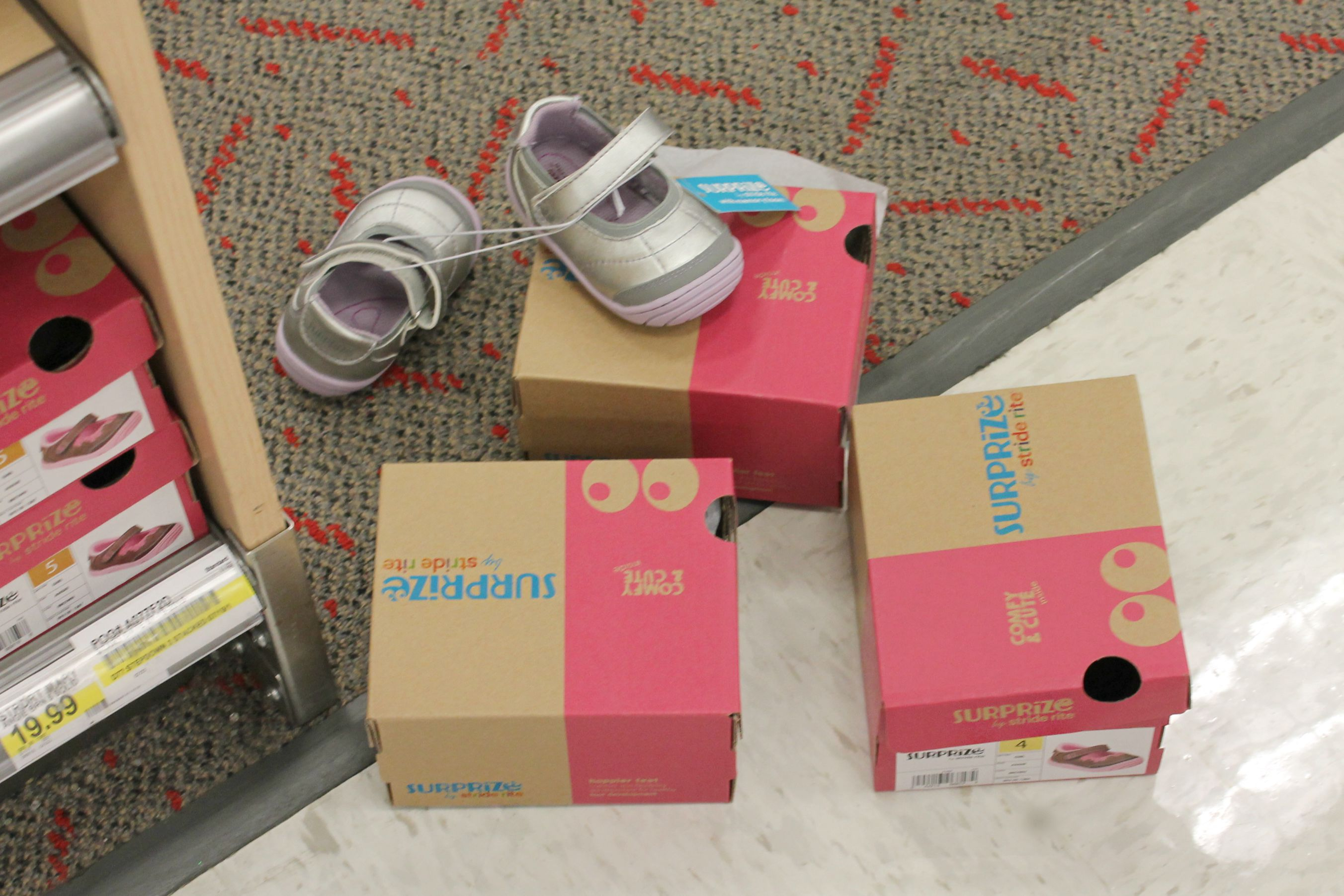 Stride Rite Surprize baby shoes