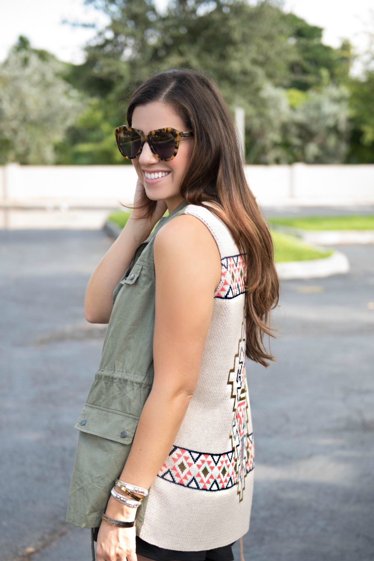 jaime cittadino, sunflowers and stilettos, shop riffraff, military utilty cargo vest