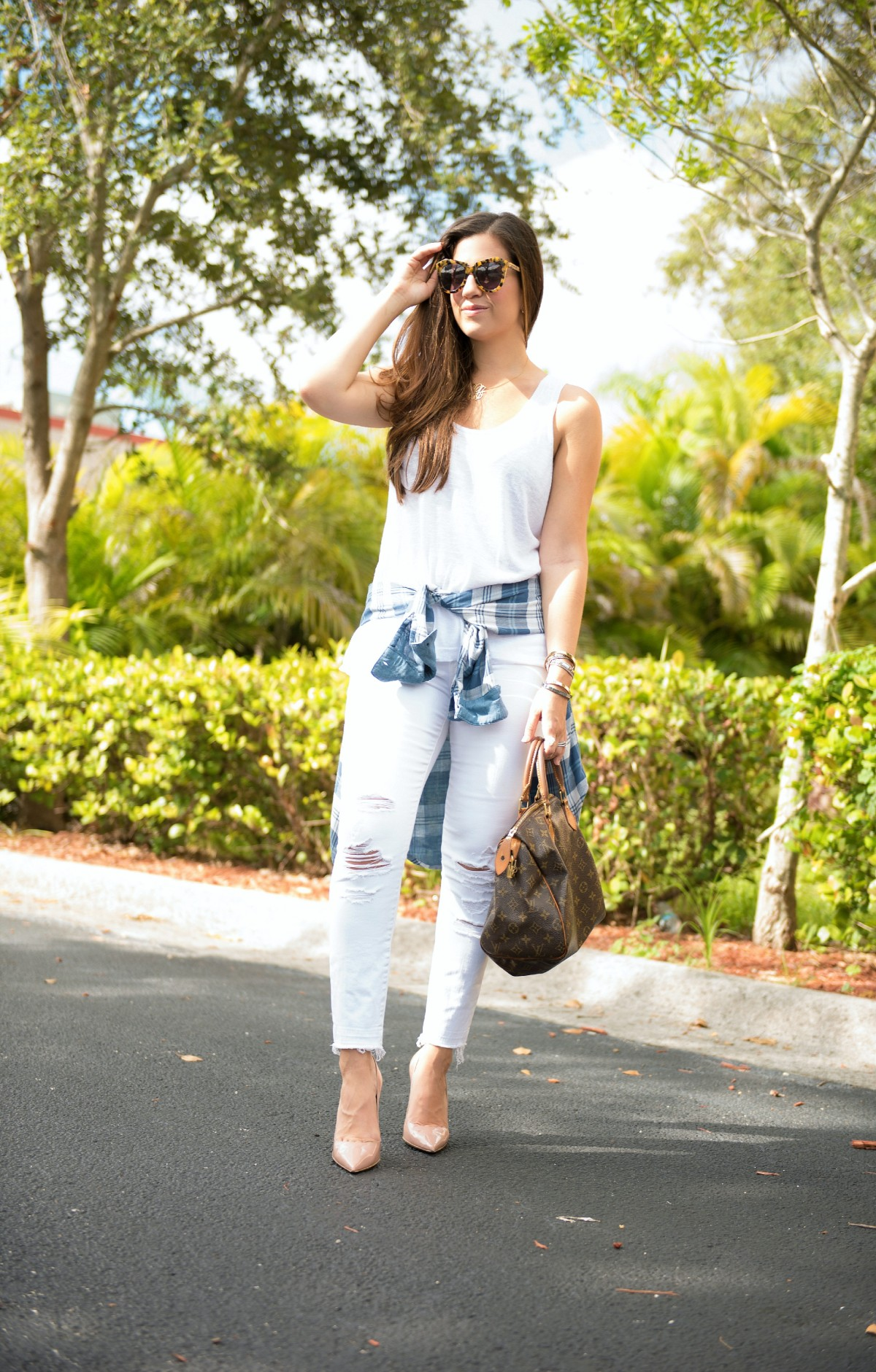 wearing white in the Fall, white jeans in the Fall, white jeans after labor day, Jaime Cittadino, Sunflowers and Stilettos