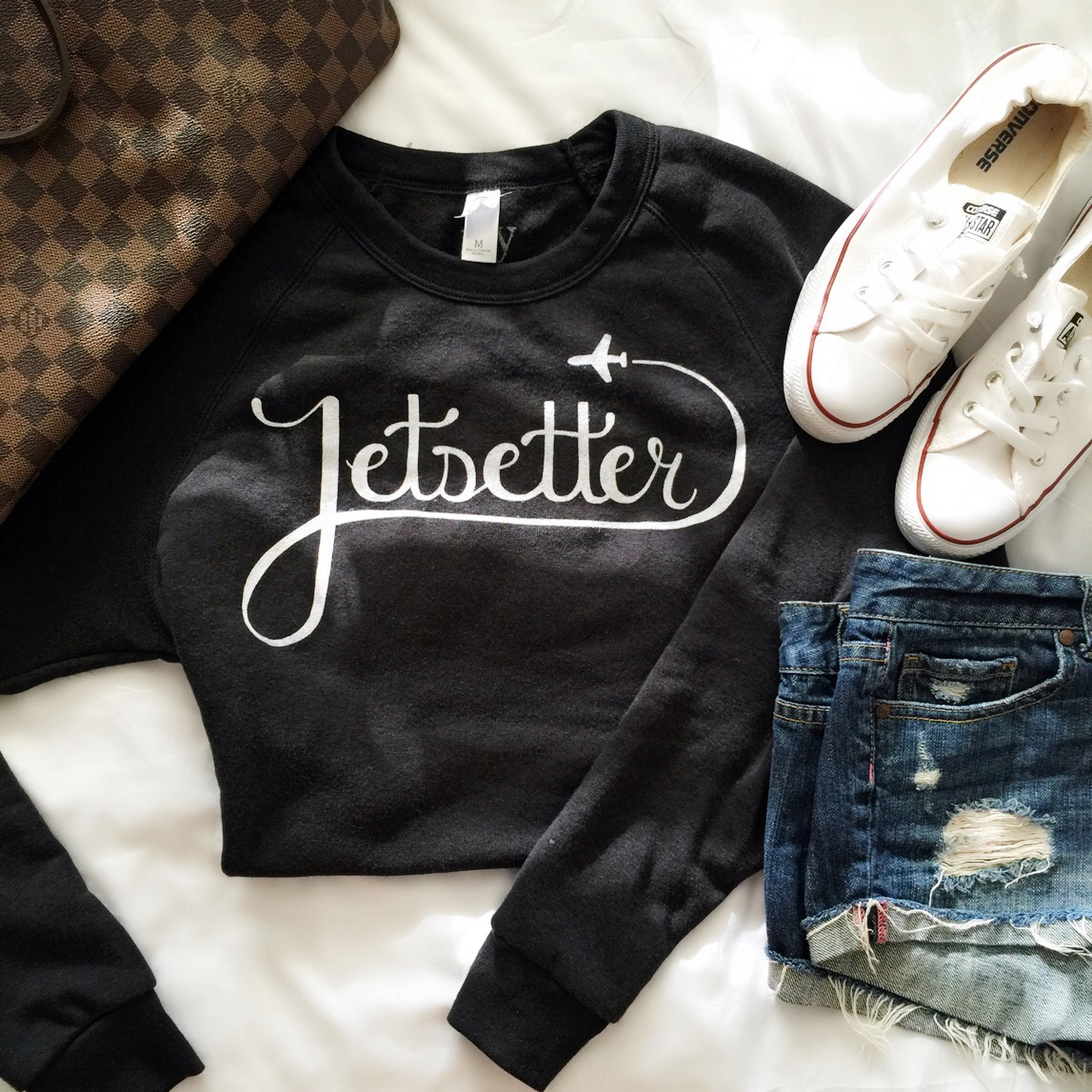 ily couture jetsetter sweatshirt