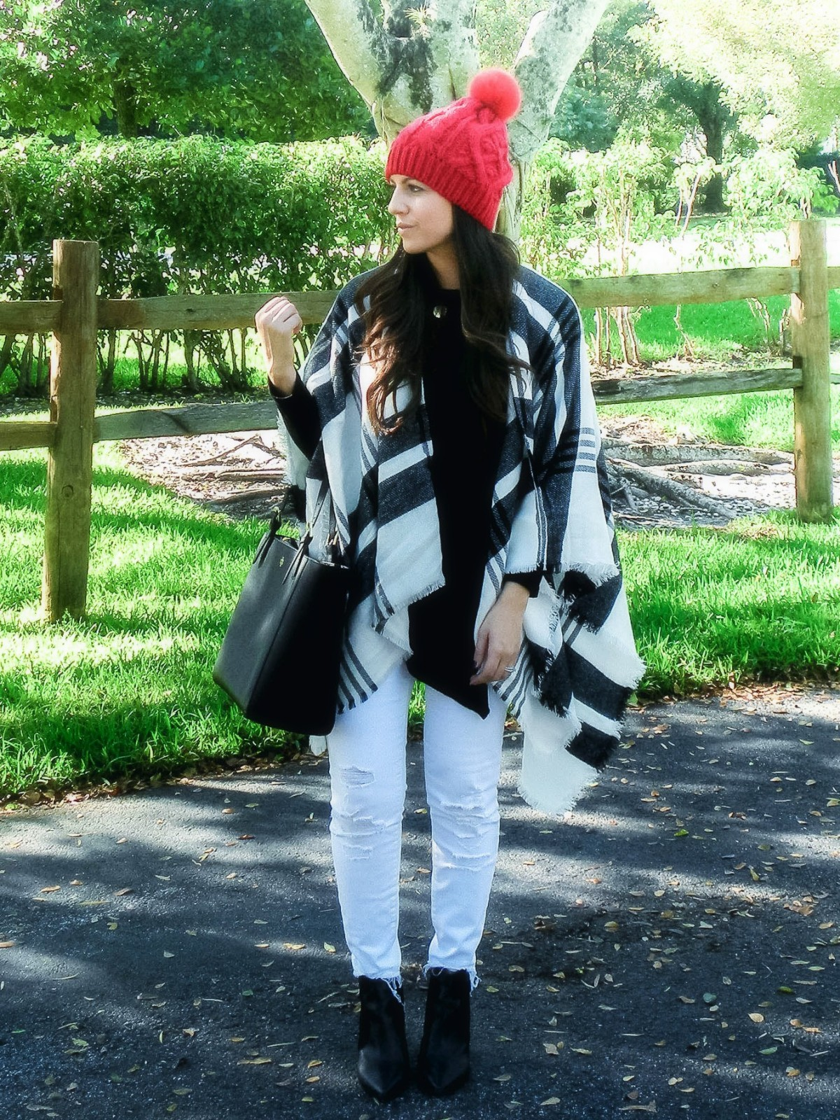 winter chic, white jeans in winter