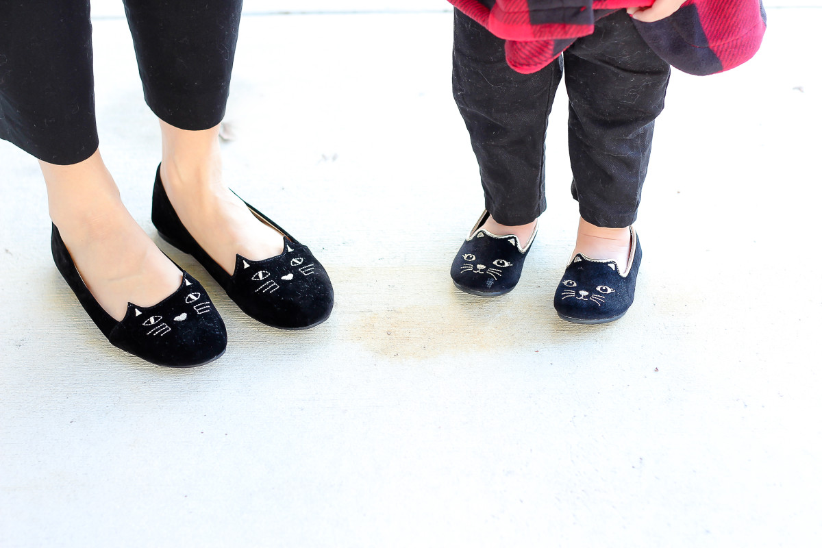 old navy cat shoes, SheIn cat shoes, Charlotte Olympia Cat shoes