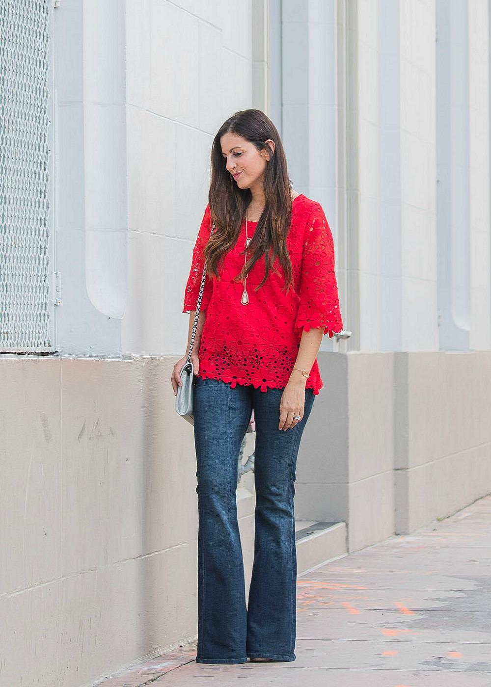 bell bottoms, flared denim, 70's fashion style
