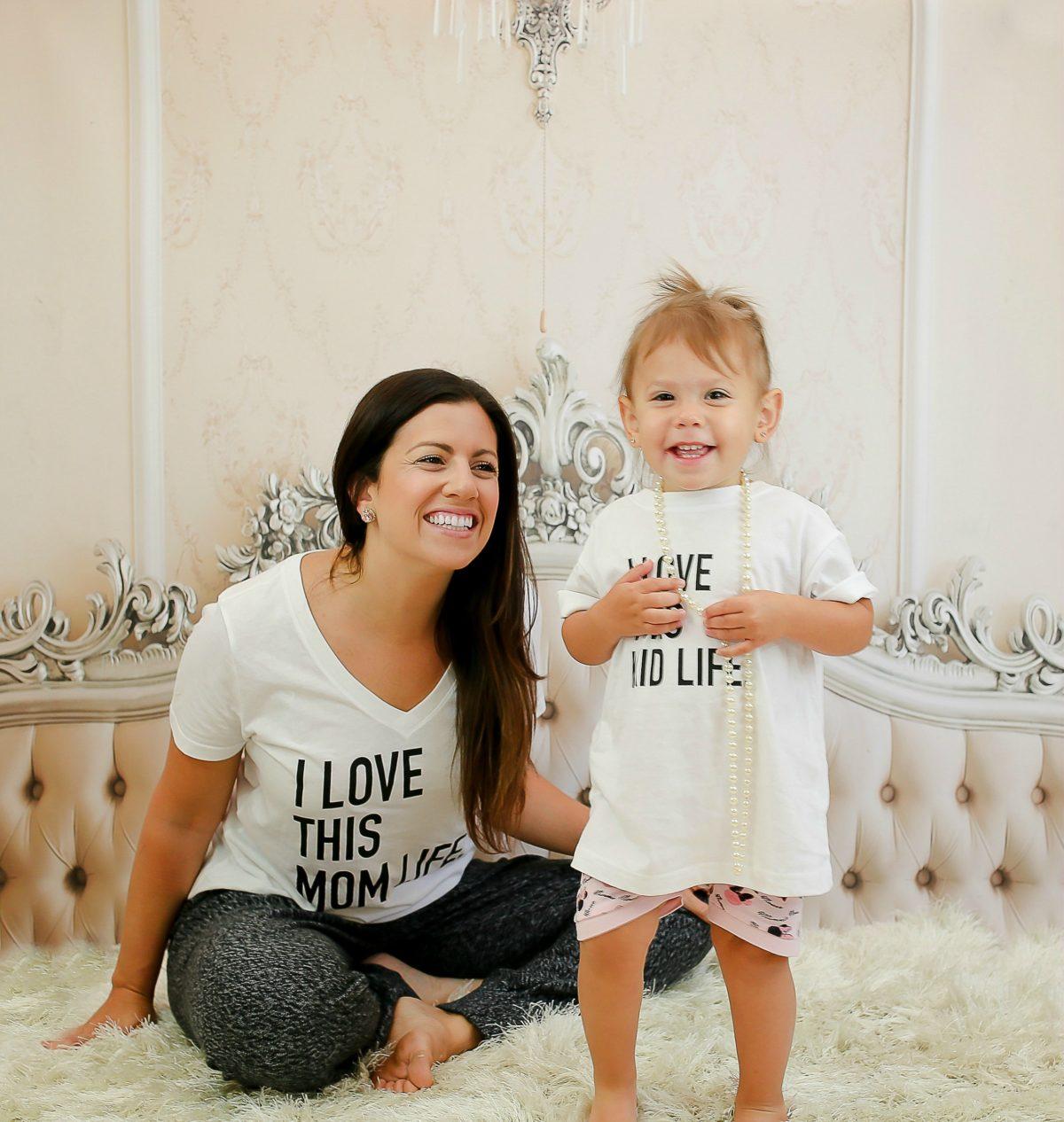 Live Styled Shop etsy, etsy Mom tee, Jaime Cittadino, mommy and me tees