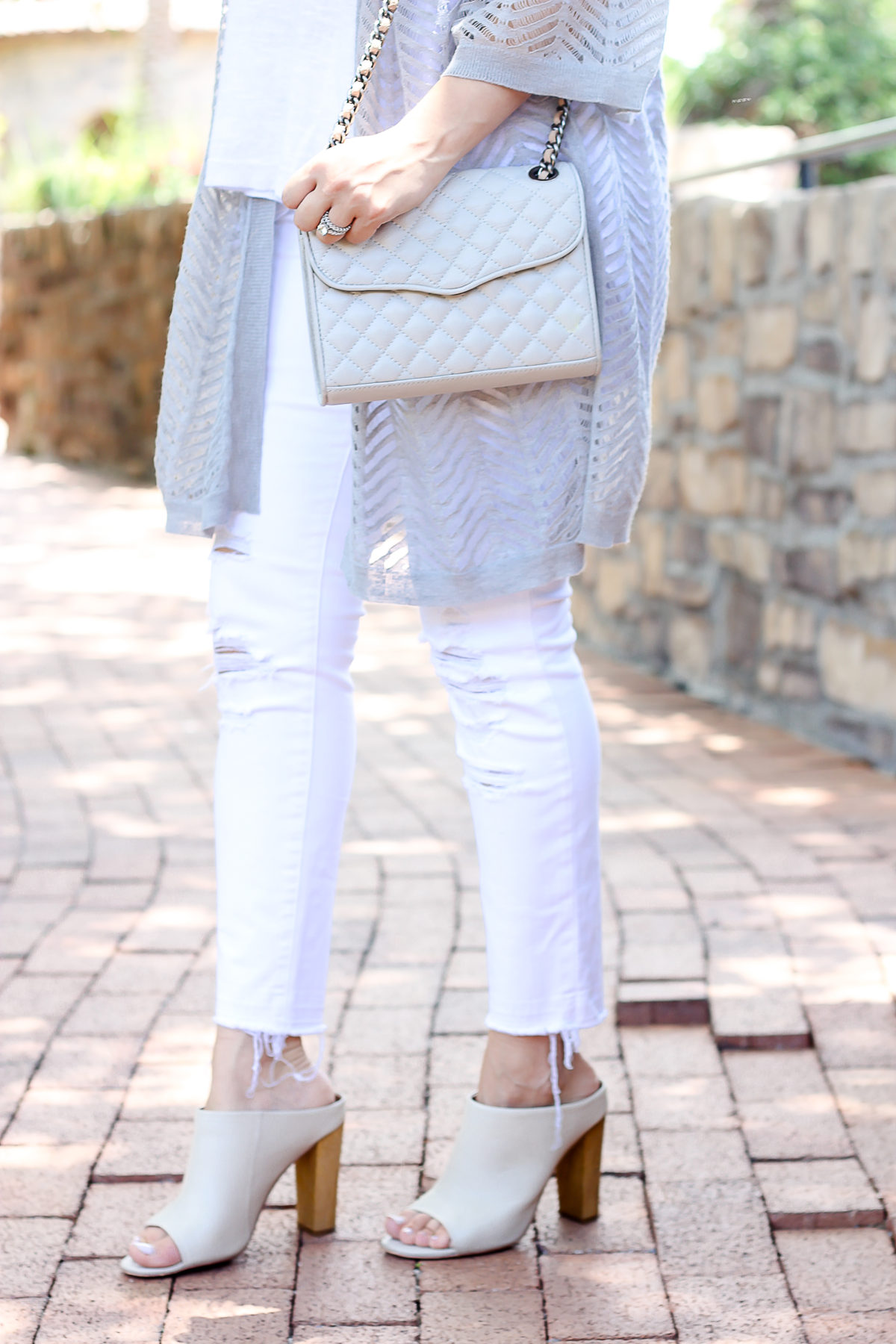 shoe mint mules, light grey mules, how to style mules