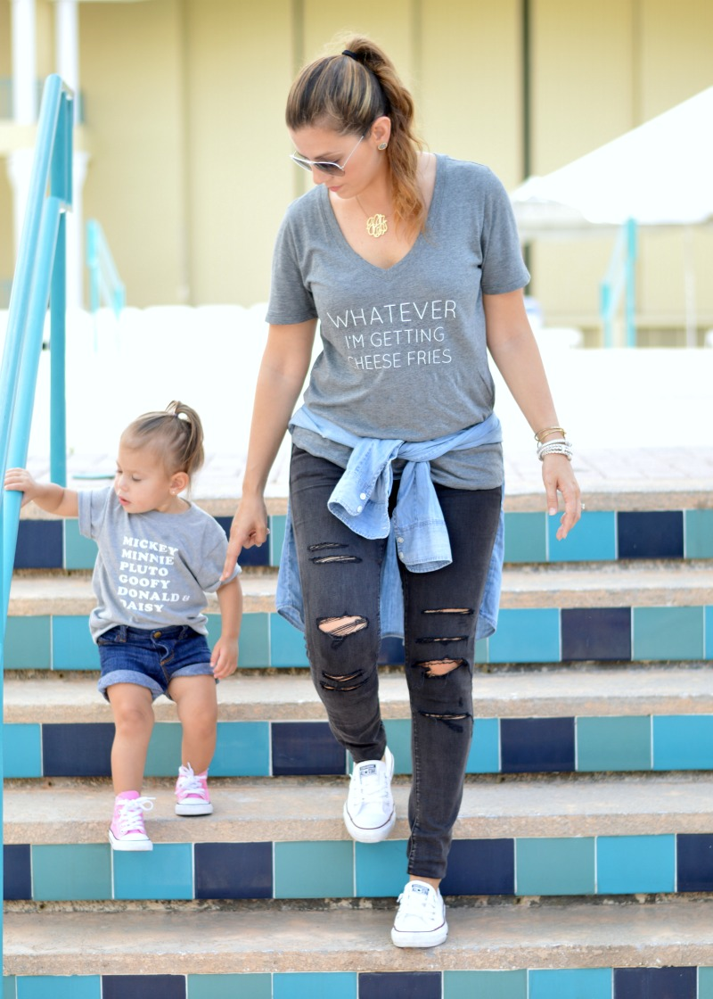 mommy and me tees
