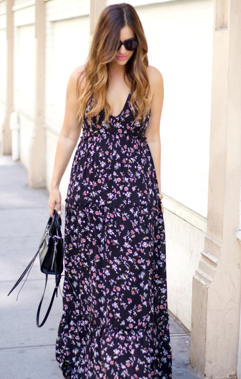 abercrombie maxi dress