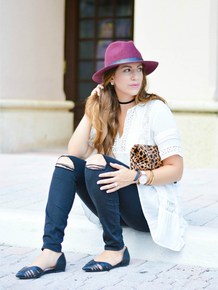 Fashion blogger Jaime Cittadino wearing Payless Alana Flats