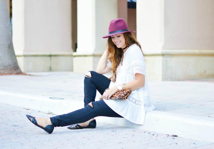 Fashion blogger Jaime Cittadino wearing her best fall style