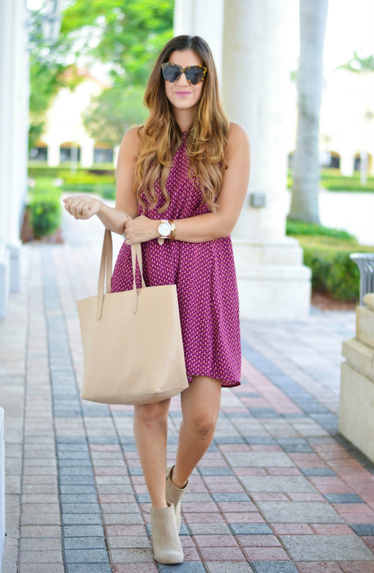 Fashion Blogger Jaime Cittadino of Sunflowers and Stilettos in Old Navy #50Styles50States