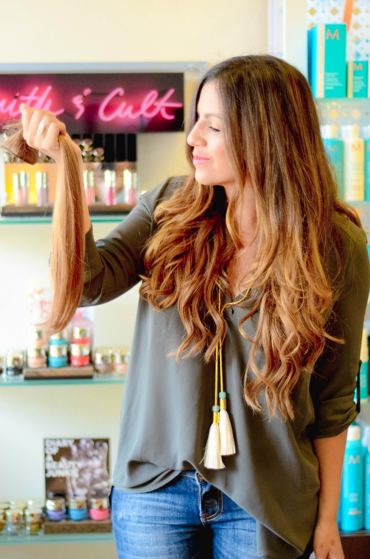 clip-in human hair extensions