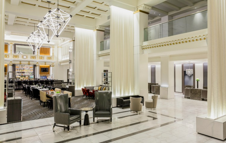 Boston Park Plaza lobby