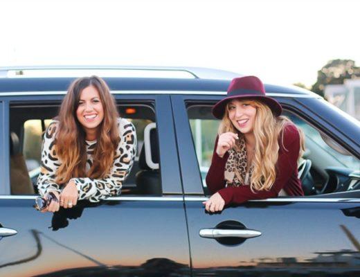 Infiniti SUV Hertz rental car