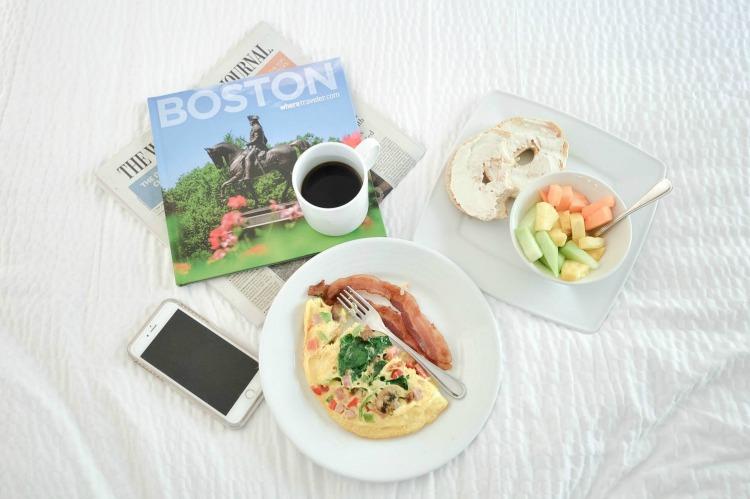 Courtyard Boston Downtown breakfast