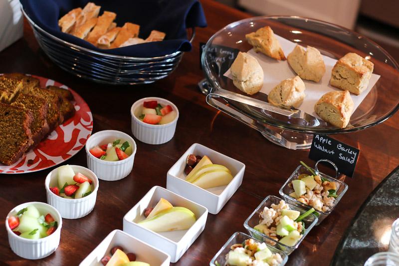 76 Main hotel Nantucket breakfast