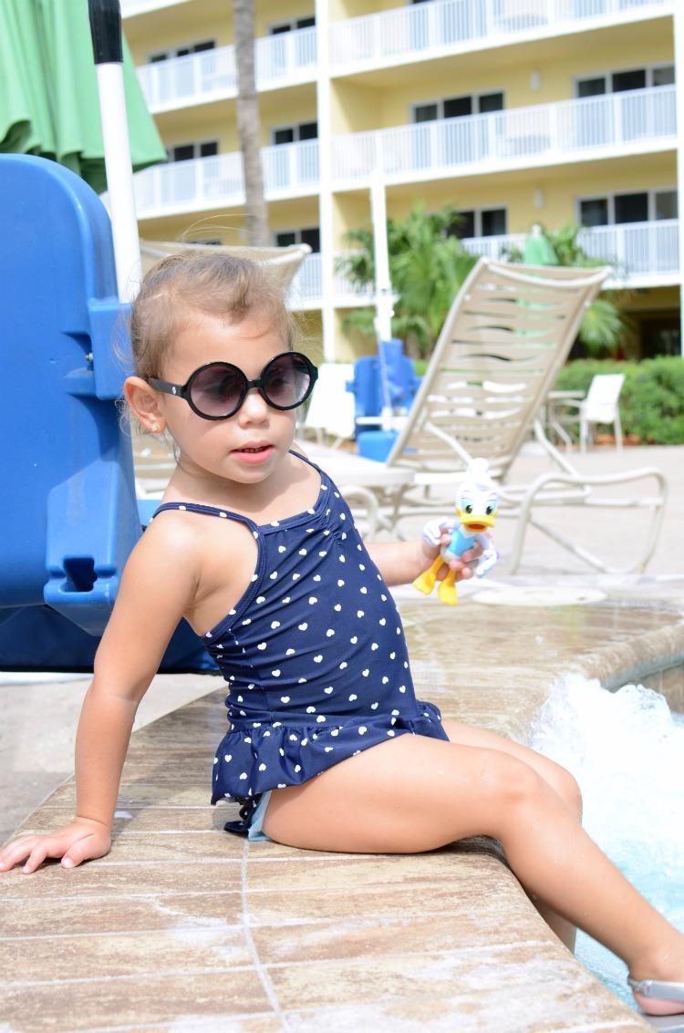 Toddler Girl Peplum Swimsuit