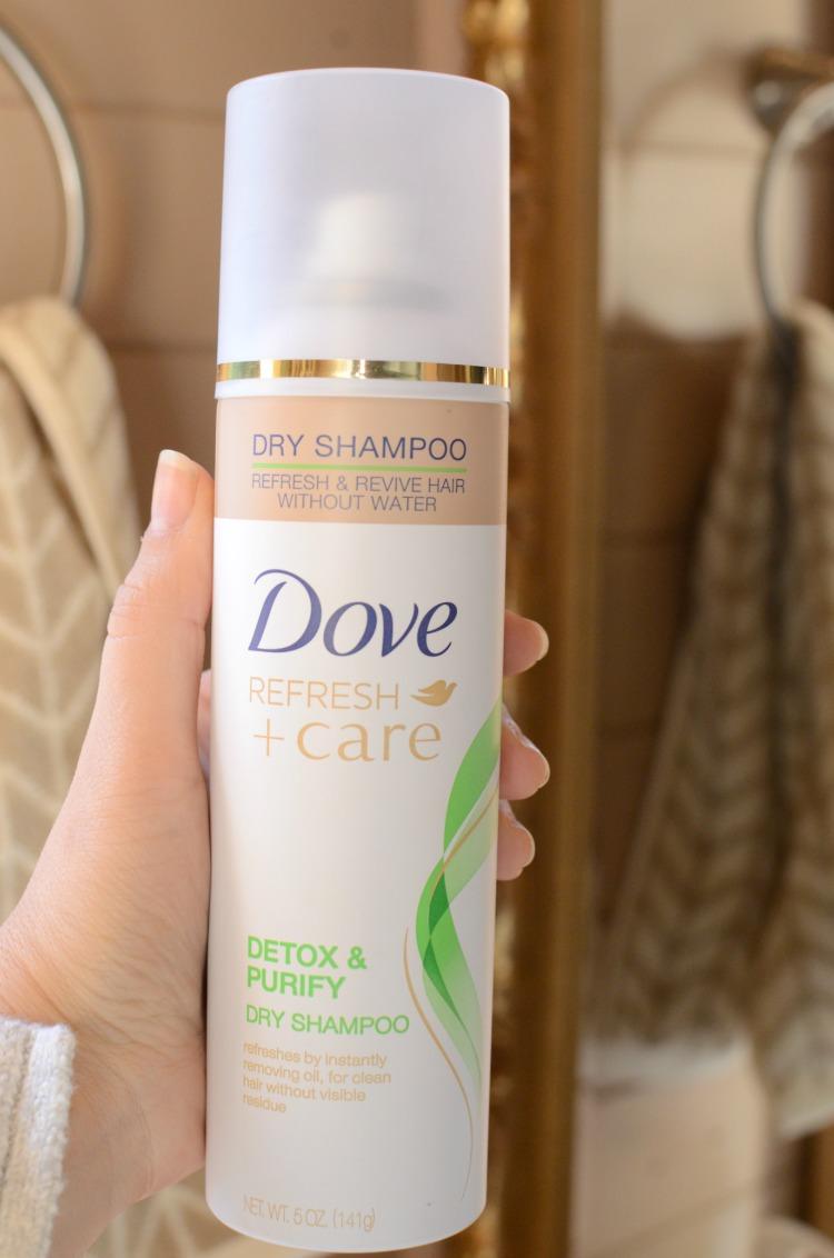 Dove Refresh + Care Detox Purify Dry Shampoo review