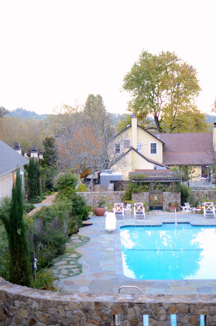 Farmhouse Inn hotel restaurant review by travel and lifestyle blogger, Jaime Cittadino of Sunflowers and Stilettos