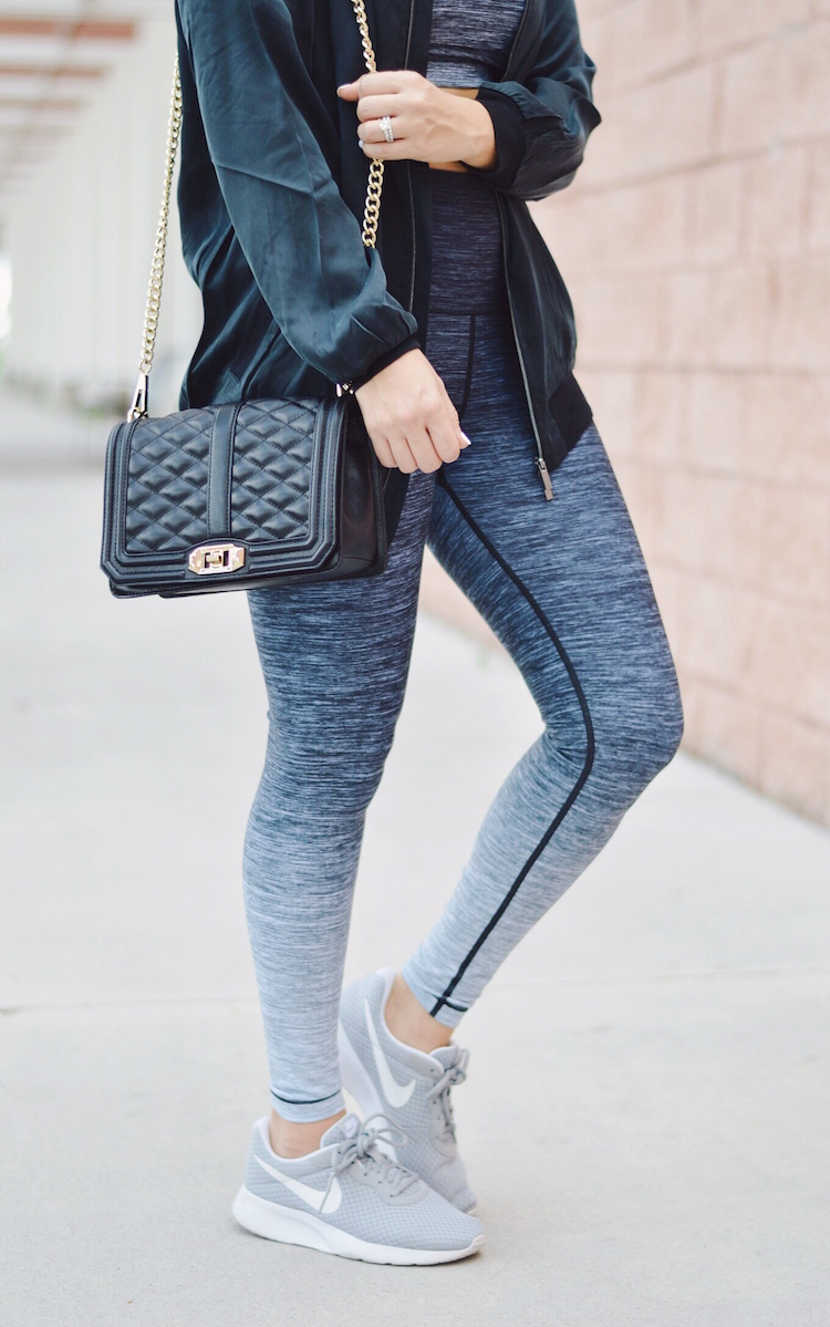 athleisure style by Jaime Cittadino of Sunflowers and Stilettos fashion blog