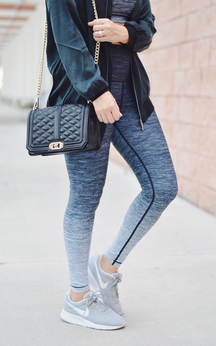 athleisure style by Jaime Cittadino of Sunflowers and Stilettos fashion blog