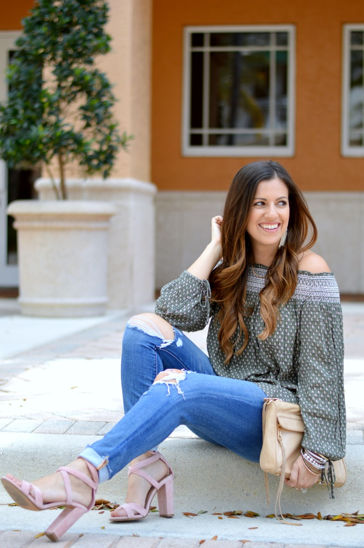 Spring Style, Off Shoulder Top, Fashion Blogger Style