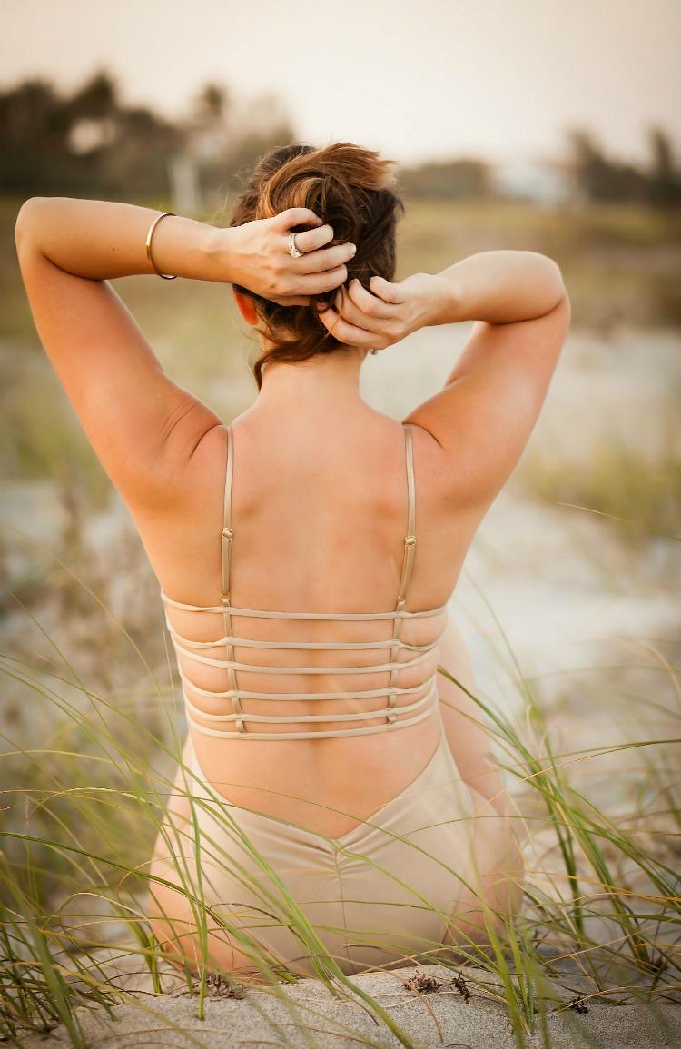 Montce Swim One Piece worn by Florida Fashion Blogger, Jaime Cittadino