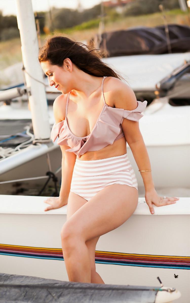 Dusty Rose Bikini_Montce Swim Discount