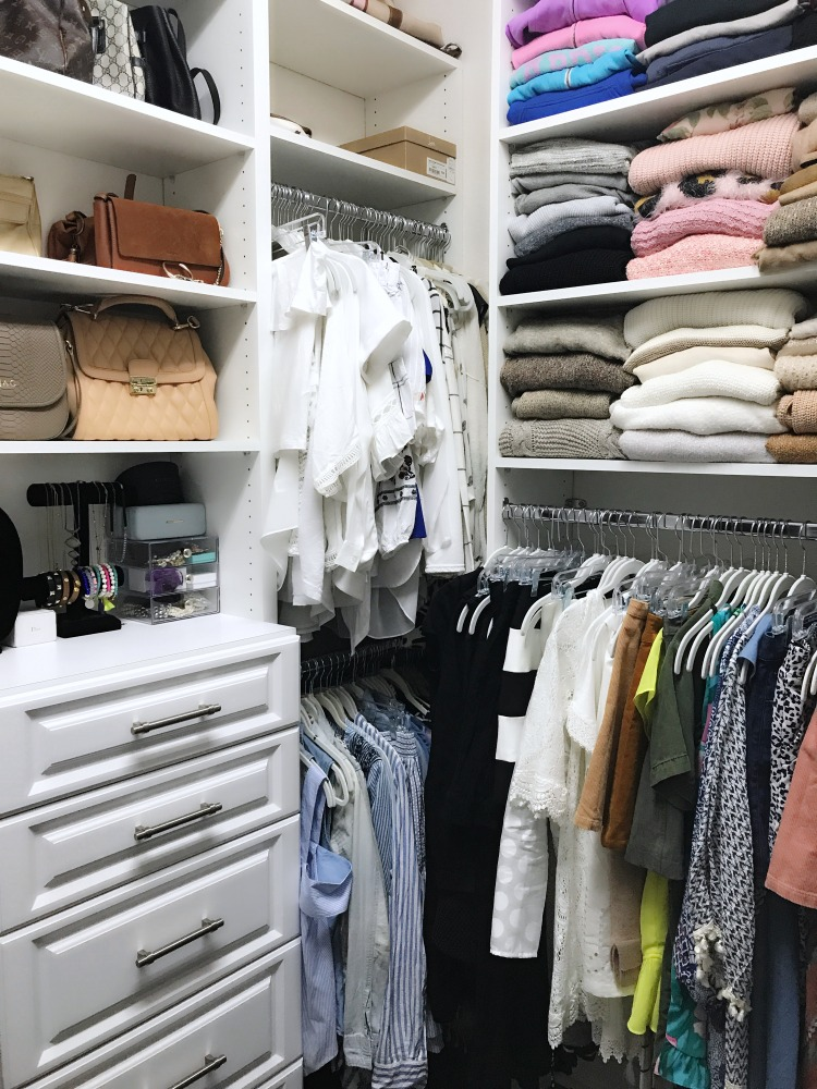 Your Closet Can Simplify Your Life The Art Of The Capsule: 5 Tips For Organizing Your Closet + Custom Closets By The