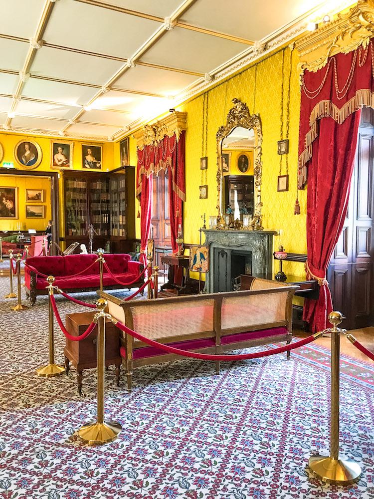 Kilkenny Castle travel review, travel blogger Jaime Cittadino