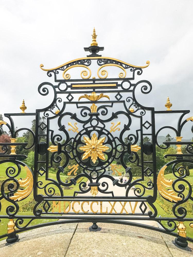 Ireland Powerscourt Gardens Wicklow