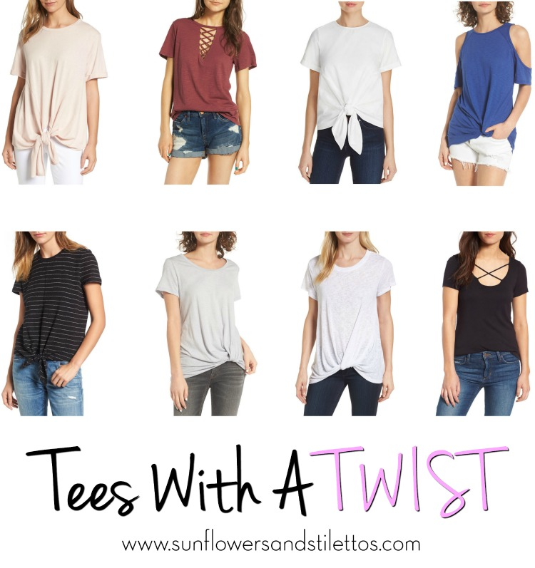 tees with a twist